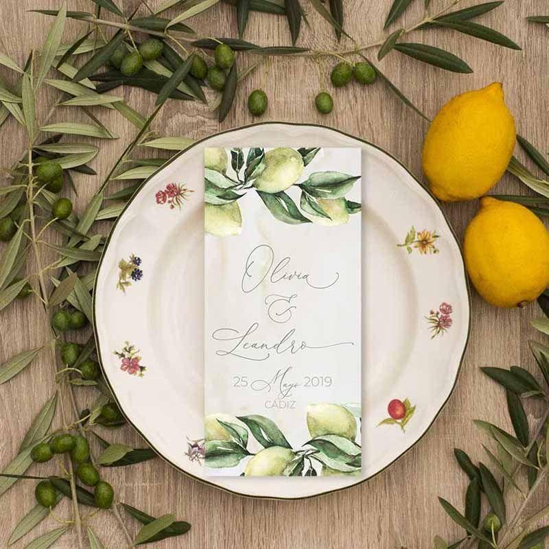 Menú boda olivos para bodas en el campo