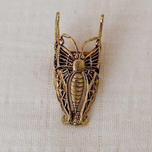 Anillo mariposa oro