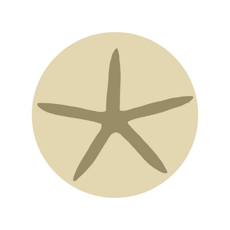 Sello lacre Estrella de mar
