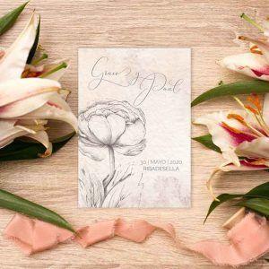 Invitación de boda 'Grace'