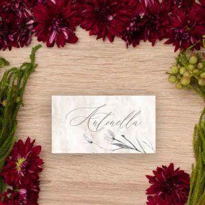 Tarjeta puesto de mesa 'Lionetta'