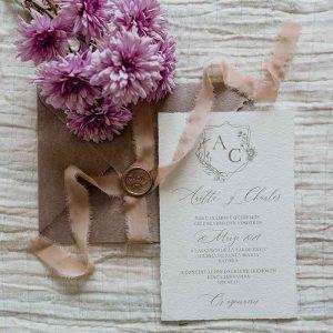 Invitación de boda Anette