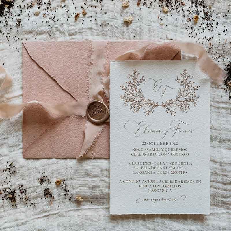 Invitación de boda Eleonore