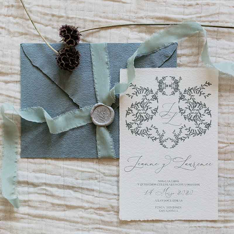 Invitación de boda Jeanne