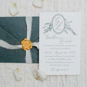 Invitación de boda 'Geraldine'