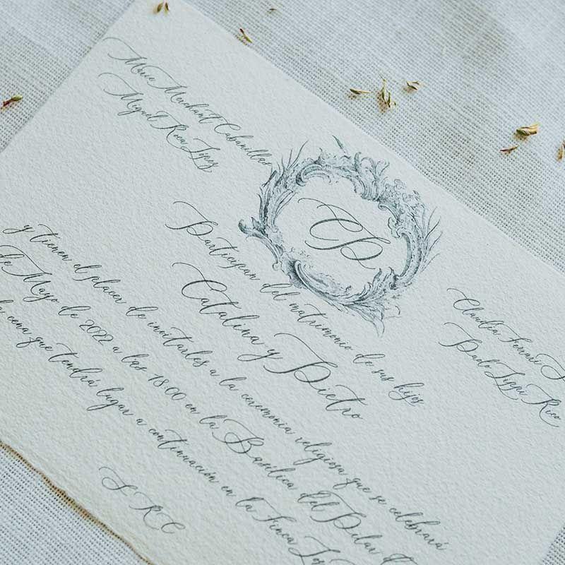 invitacion boda catalina