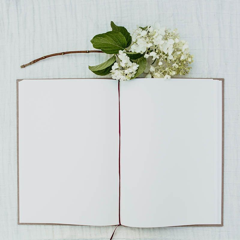 libro de firmas boda tierra
