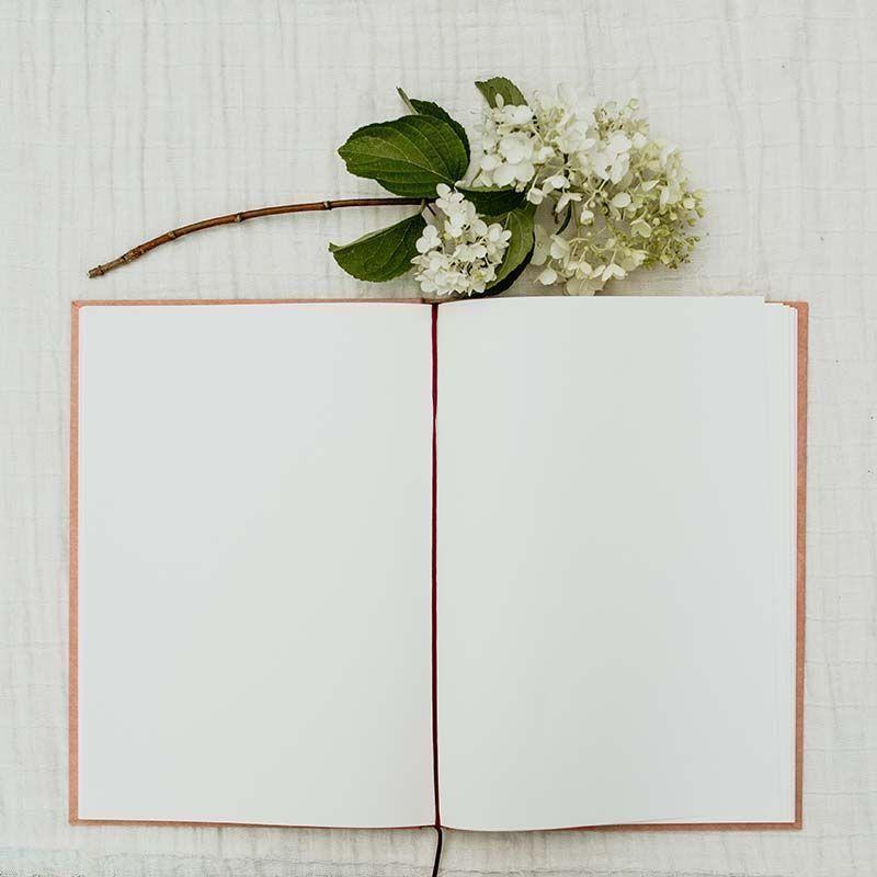 libro firmas boda rosa