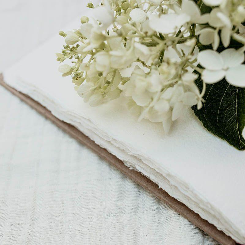 papel artesanal libro tierra