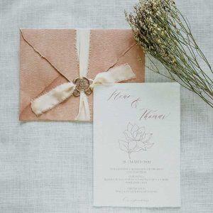 Invitacion botanica magnolia