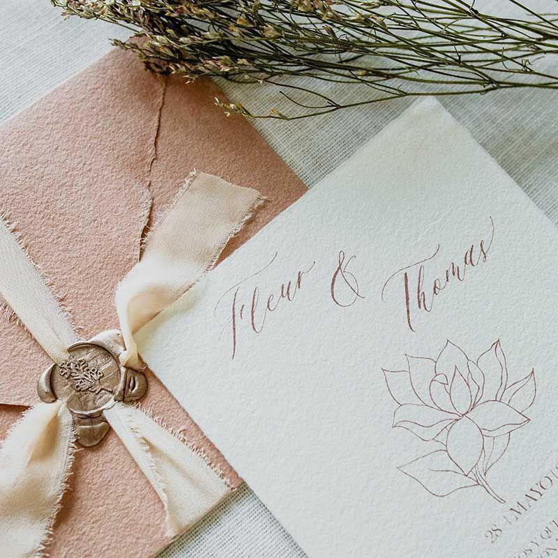 Invitacion magnolia